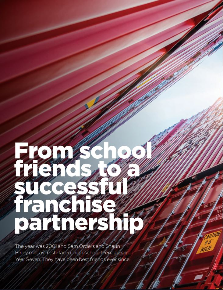 From school friends to a successful franchise partnership Image